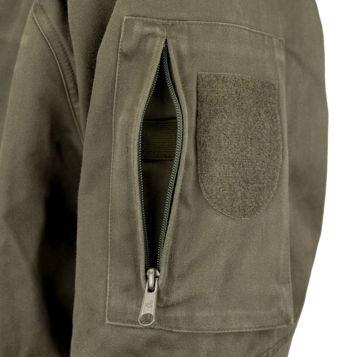 Austrian Mountain Troop Jacket Zippered Pocket