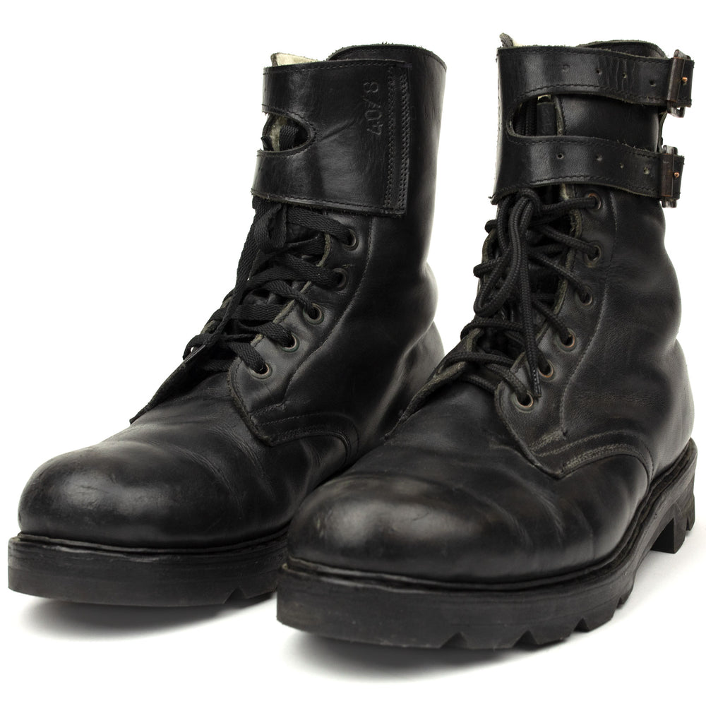 Austrian Army Winter Lined 2 Buckle Boots