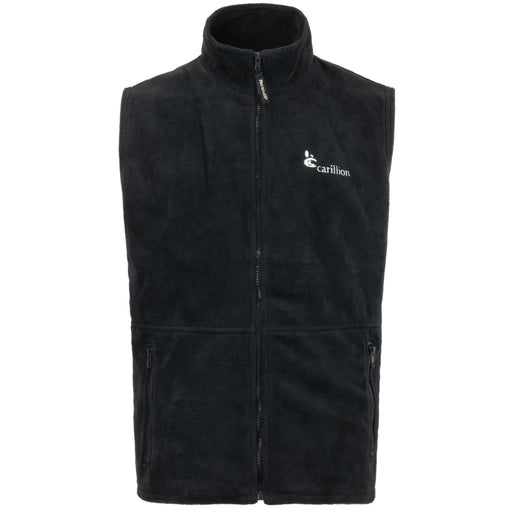 British Black Fleece Vest