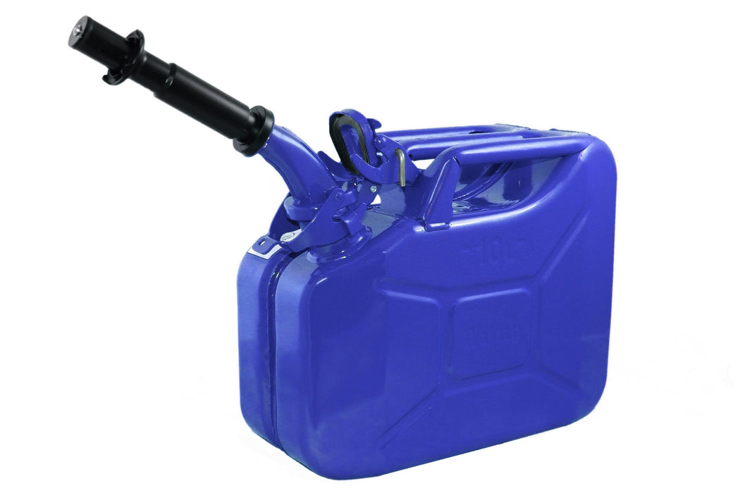 Blue 10L Fuel Can