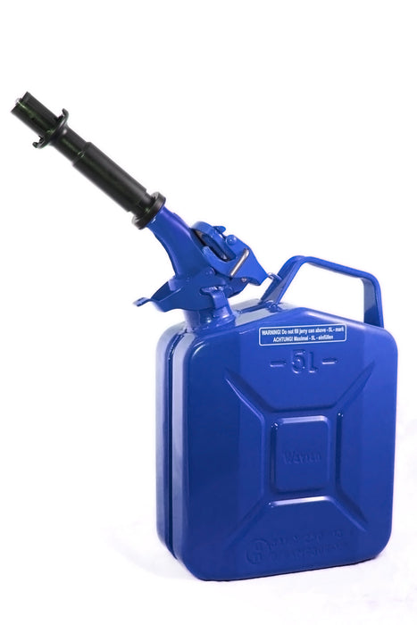 Blue 5L Fuel Can