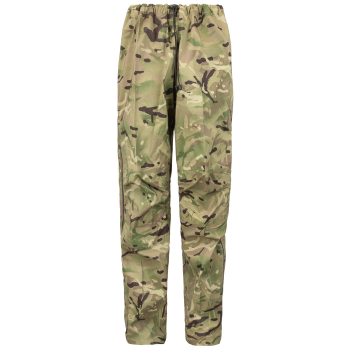 British Army Lightweight Rip-stop Rain Pants | Multi-cam