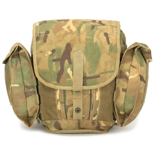 British Army Multi-Cam Gas Mask Bag