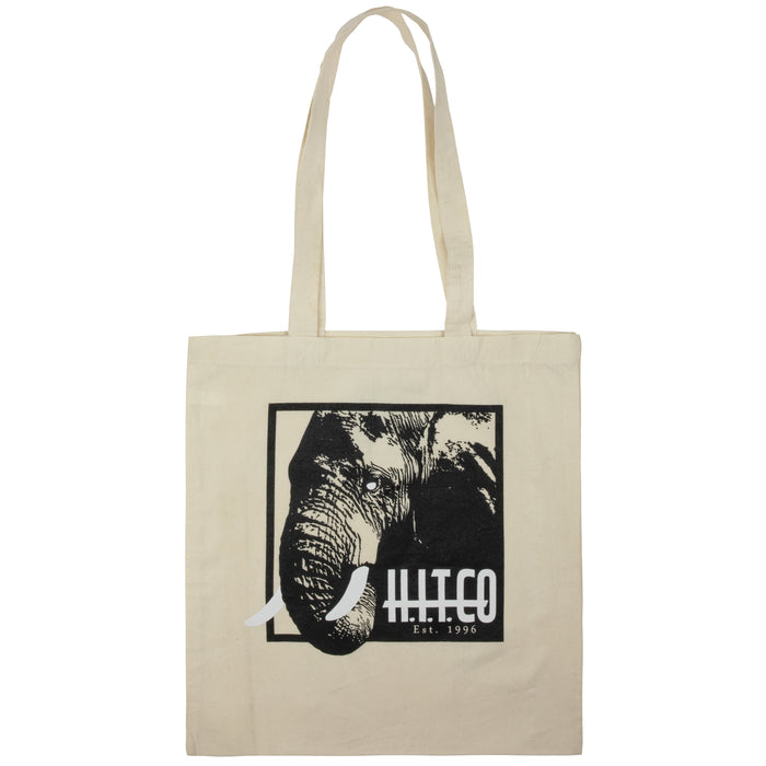 HITCO™ Cotton Canvas Reusable Shopping Tote Bag | Limited Edition