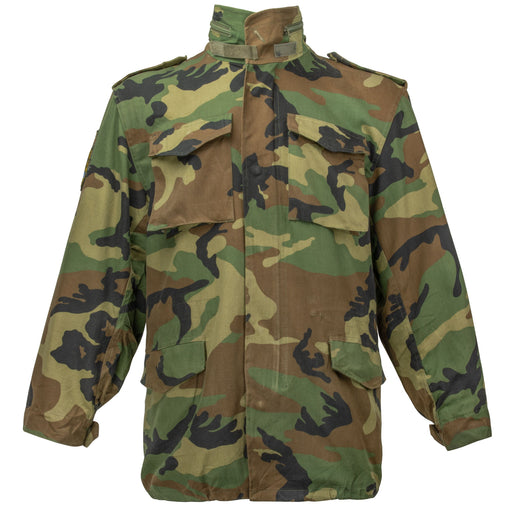 Croatian Army M65 Parka | Woodland Camo