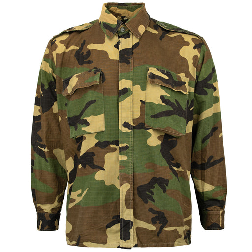 Croatian Woodland Rip-Stop Long Sleeve BDU Shirt