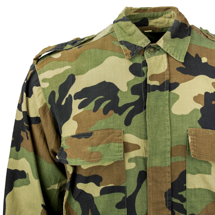 Croatian Woodland Long Sleeve BDU Shirt