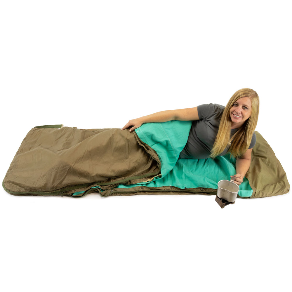 Czech Army 3pc Sleeping Bag