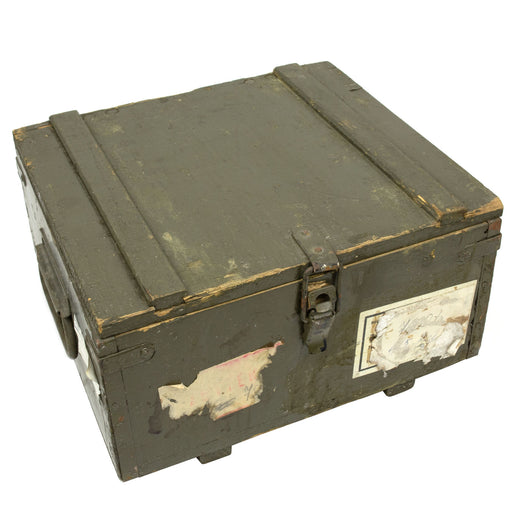 Czech Army 7.62 Ammo Box | Wooden