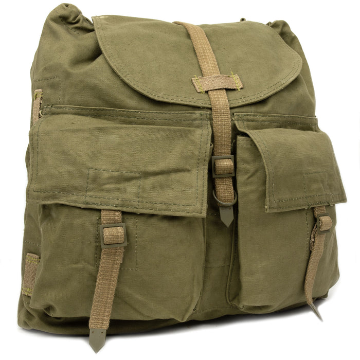 Czech Army Canvas Backpack