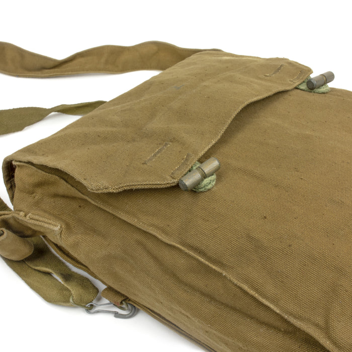 Czech Canvas Bread Bag | Gas Mask Bag