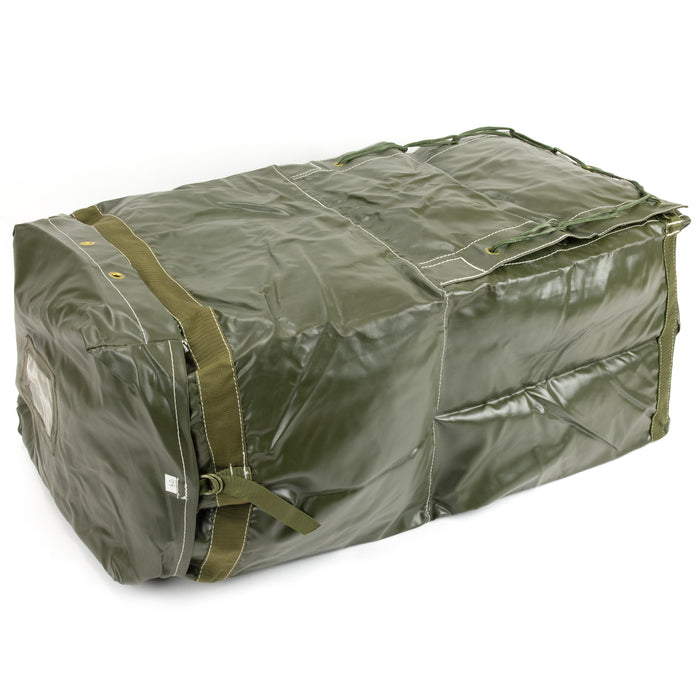 Czech Army Duffel Bag | Rubberized Vinyl