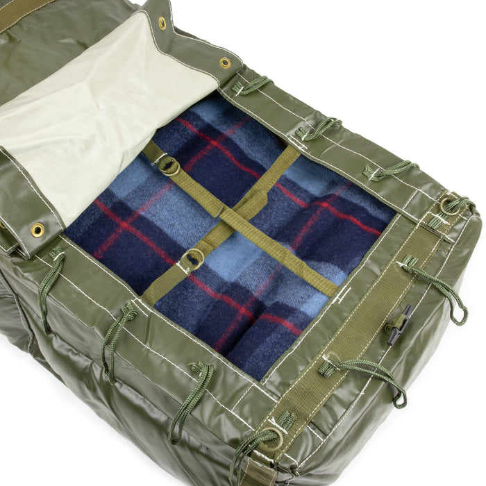 Czech Army Duffel Bag | Classic Wool Blanket