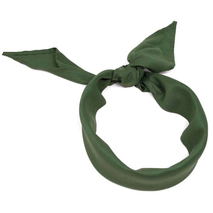 4-Pack Czech Army Bandanna | Olive Drab