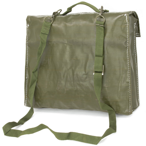 Czech Army Shoulder Bag | Rubberized Vinyl