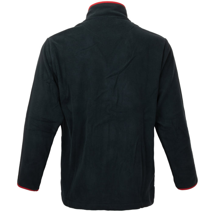 British Fleece Jacket With Red Trim