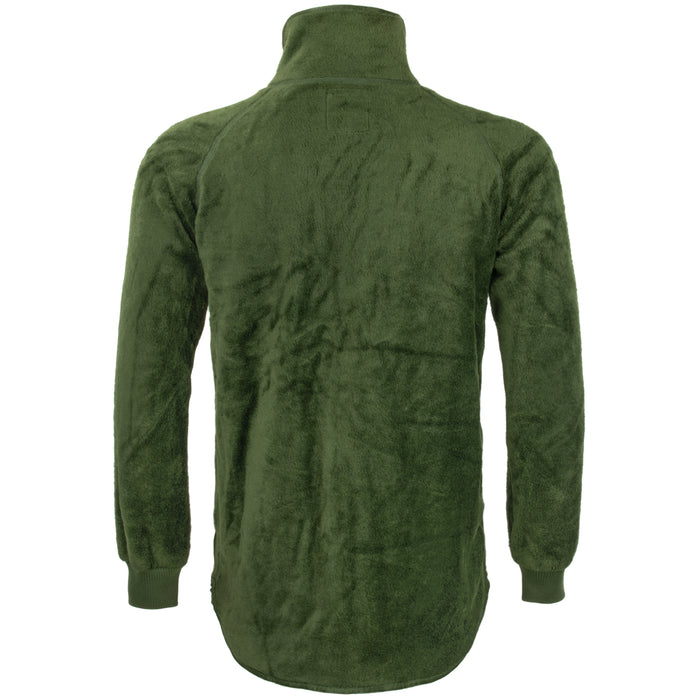 Dutch Army Full-Zip Fleece Sweater Jacket