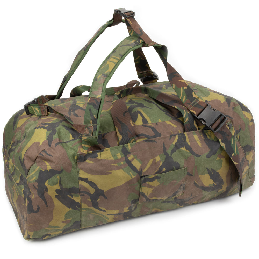 Dutch Army Woodland Backpack / Duffel Bag