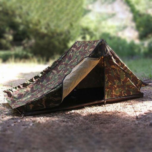 Dutch Army Woodland Camouflage Tent