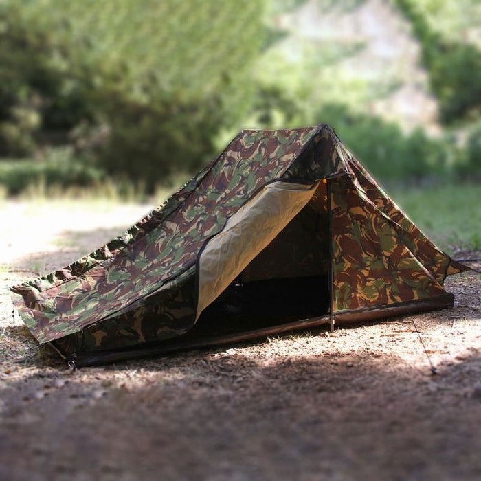 Dutch Army Tent | Woodland & Desert Camouflage