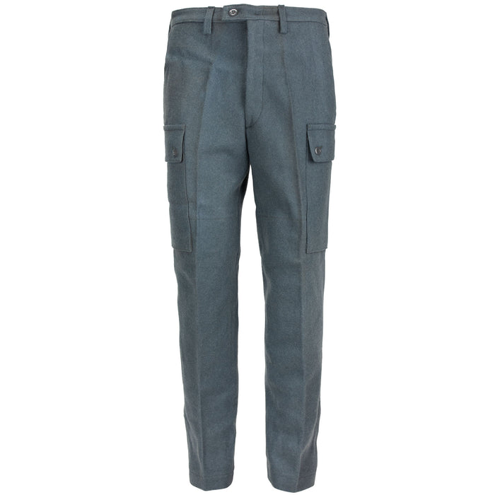Finnish Army Wool Pants | Blue