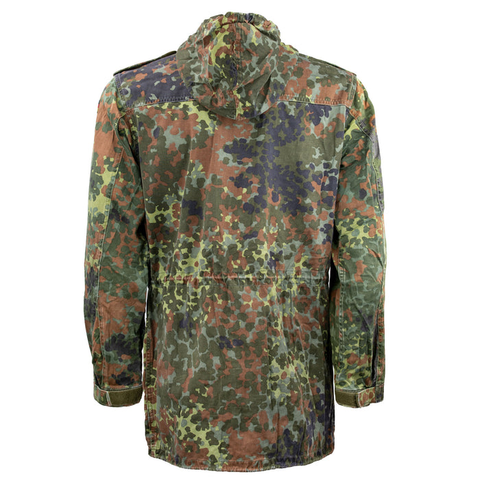 German, Flecktarn, Parka, Coat, Jacket