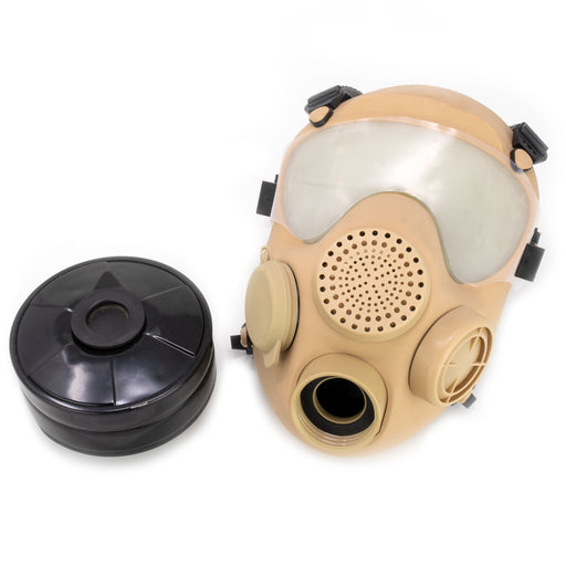 French ARF-A Gas Mask_Desert Mask Desert Bag