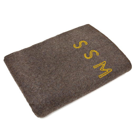100% Wool French Army Combat Blanket