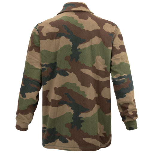 French Army Woodland Fleece Jacket