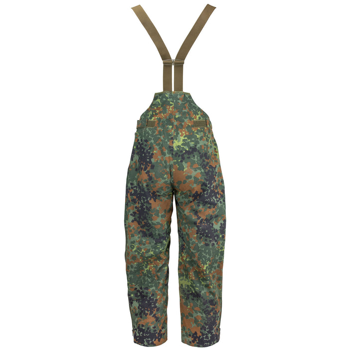German Flecktarn Parka Bib back