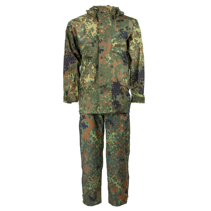German Flecktarn Set | Sympatex Parka & Bib