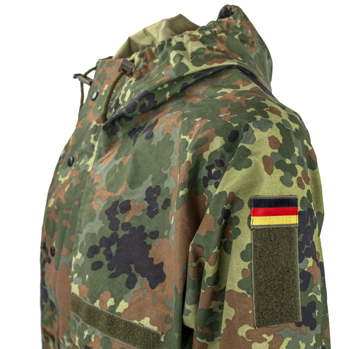 German Flecktarn Parka German Flag