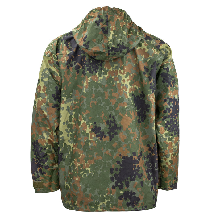 German Flecktarn Parka Back