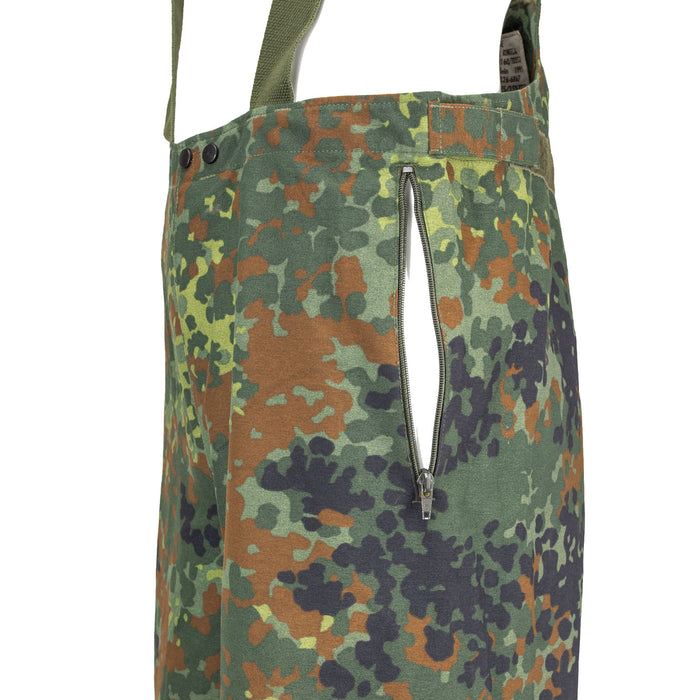 German Flecktarn Sympatex Bib Pocket