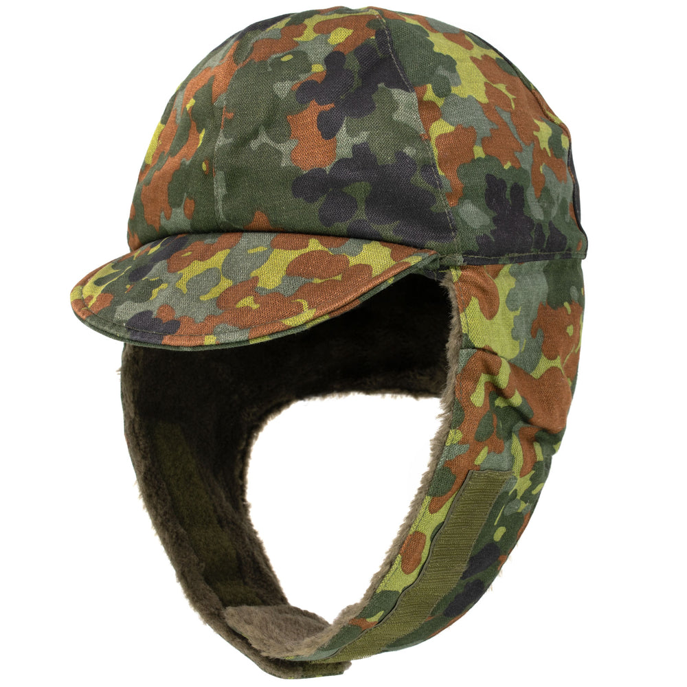 German Flecktarn Winter Cap