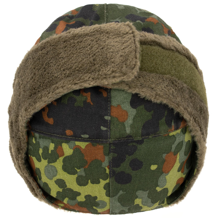 German Flecktarn Winter Cap New