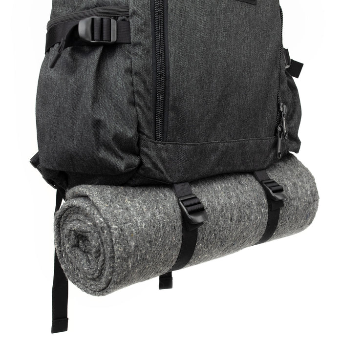 backpack blanket bed roll