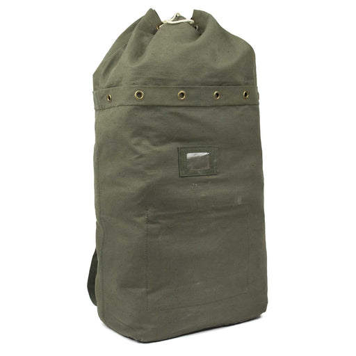 Hungarian Duffle Bag w/Straps front