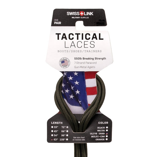 Tactical Boot Laces