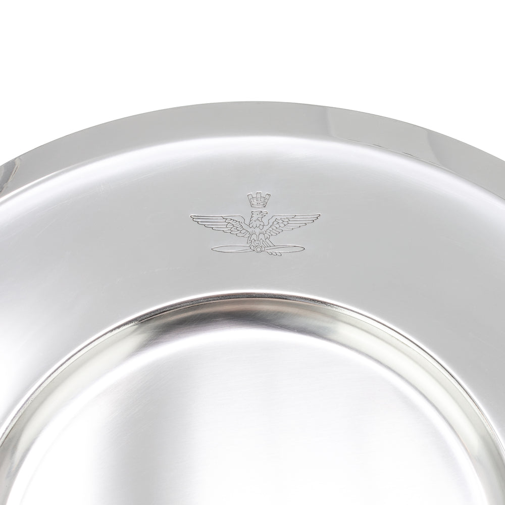 Italian Air Force Stainless Serving Tray