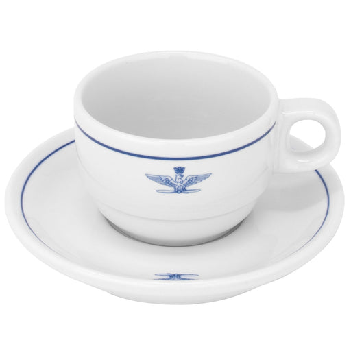 Italian Air Force Espresso Cup and Saucer (2-Pack)