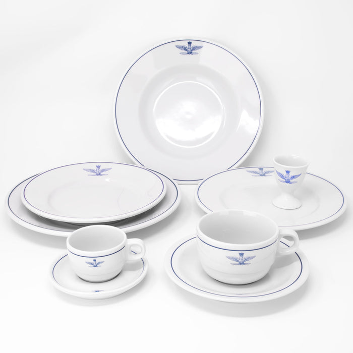 Italian Officer's Club Porcelain Collection (14-pieces)