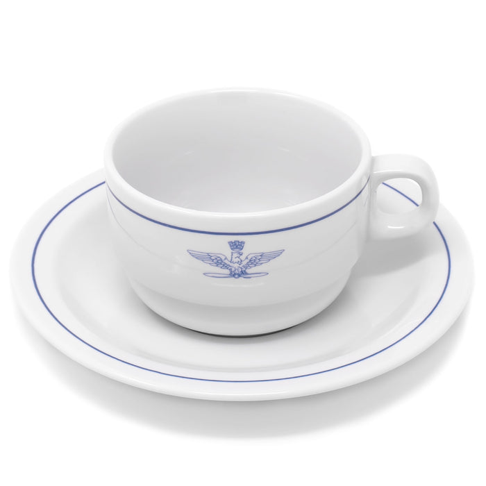 Italian Air Force Tea Cup w/ Saucer