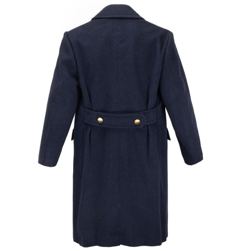 Wool Italian Navy Pea Coat
