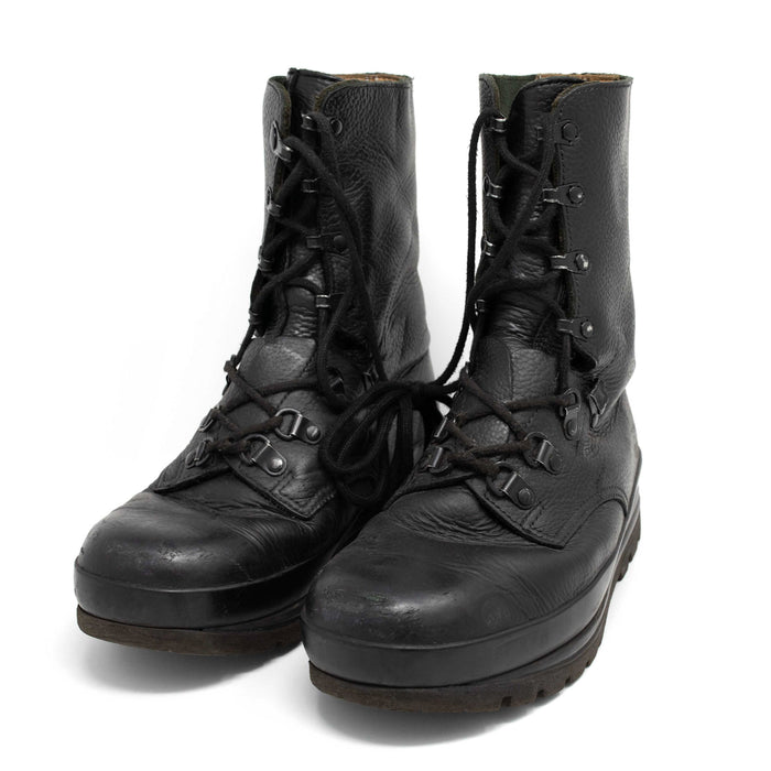 KS90 Swiss Military Black Combat Boots