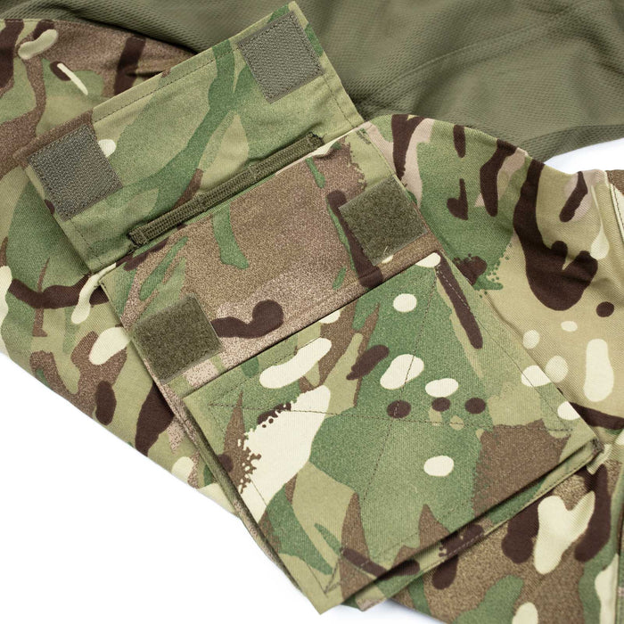 New British Multi-Cam UBAC Shirt Arm Pockets