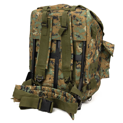 New Alice Pack | MARPAT style Multi-Cam Digital Camo, Metal Frame Back