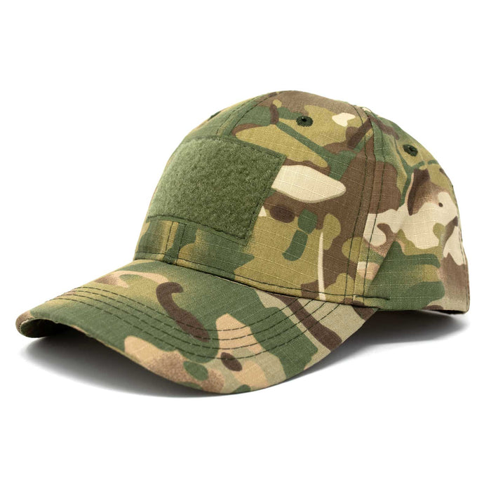 Adjustable Multi-Cam Tactical Rip-Stop Hat