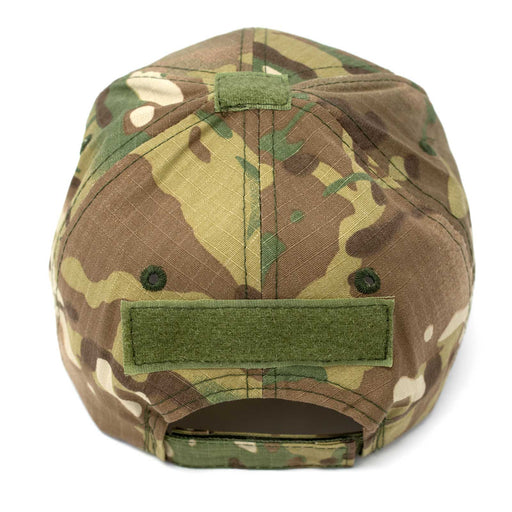 Adjustable Multi-Cam Tactical Rip-Stop Hat Back
