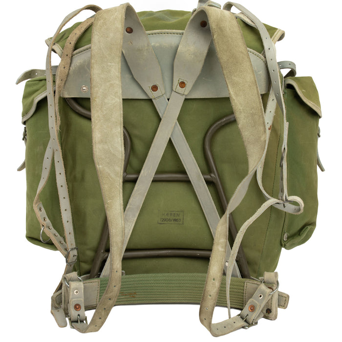 Military Issue Canvas Backpack